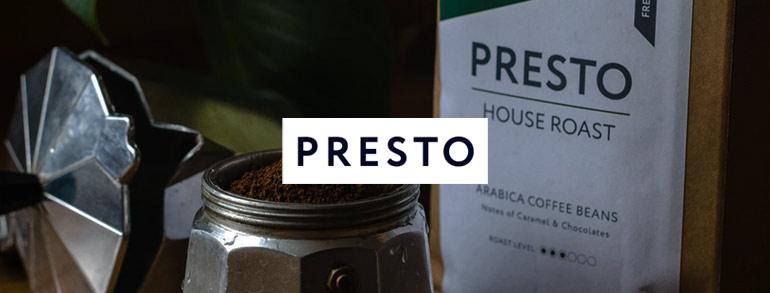 Presto Coffee Voucher Codes 2021