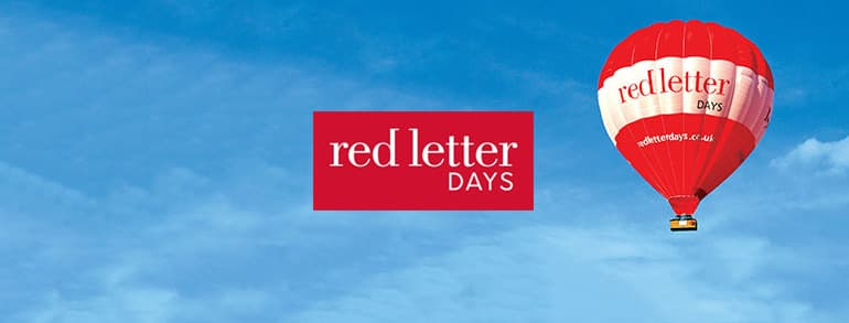 Red Letter Days Promotion Codes 2019