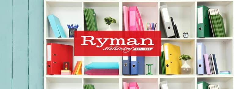 Ryman Promotional Codes 2019