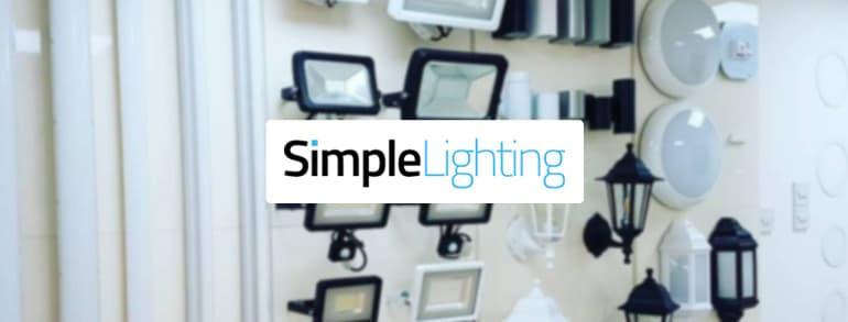Simple Lighting Voucher Codes 2018
