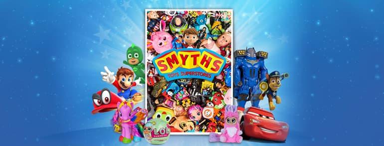 Smyths Toys Promo Codes 2018