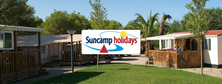 Suncamp Holidays Voucher Codes 2018 / 2019