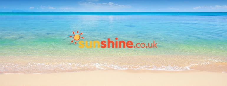sunshine.co.uk Discount Codes 2018 / 2019