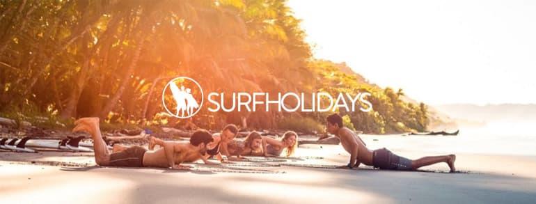 Surf Holidays Promo Codes 2018 / 2019