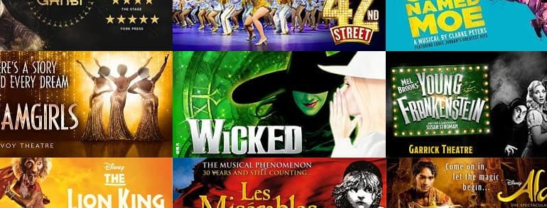 Theatre Tickets Direct Promotional Codes 2019