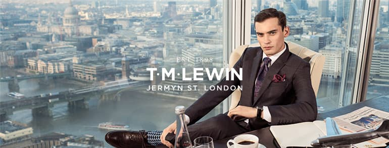 TM Lewin Promotion Codes 2018
