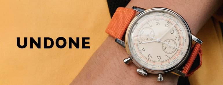UNDONE Watches Promotion Codes 2021