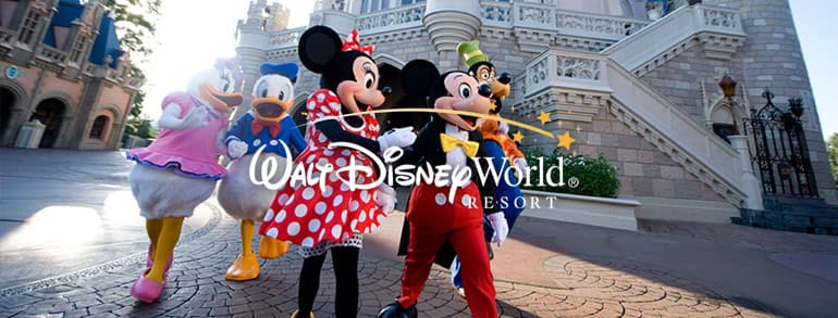 Walt Disney World Resort Voucher Codes 2018 / 2019