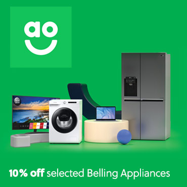 AO 10% off selected Belling Appliances