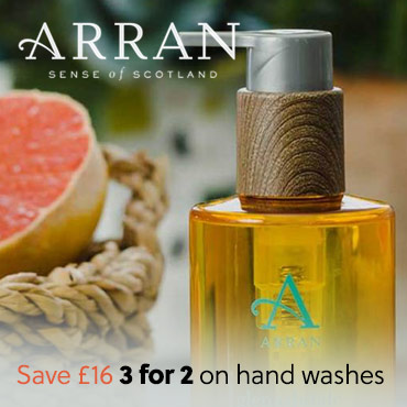 Arran 3for2 Hand Washes