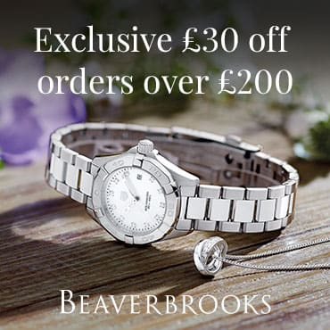 Beaverbrooks Exclusive £30 off £200