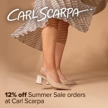 Carl Scarpa 12% off sale