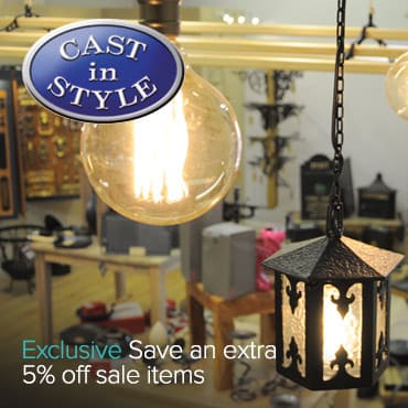Cast in Style 5% off Sale exclusive