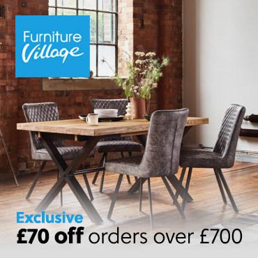Furn Village £70 off £700
