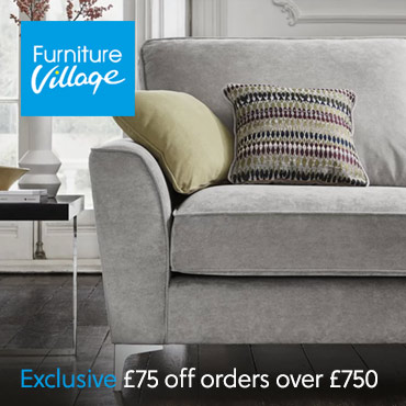 Furniture Village £75 off £750