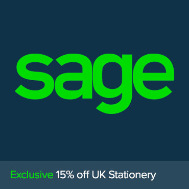 Sage Exclusive 15% off Stationery