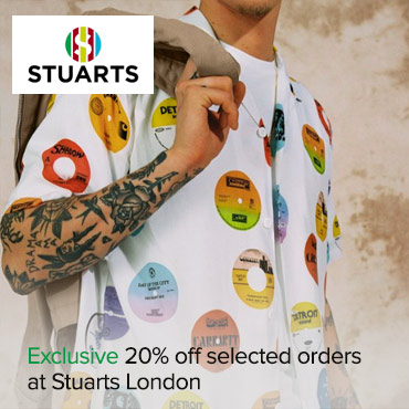 Stuarts London 20% off PPC