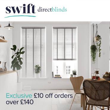 Swift Direct Blinds £10 off orders over £140