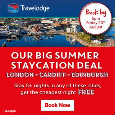 Travelodge Free Night Offer