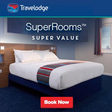 Travelodge Super Rooms offer