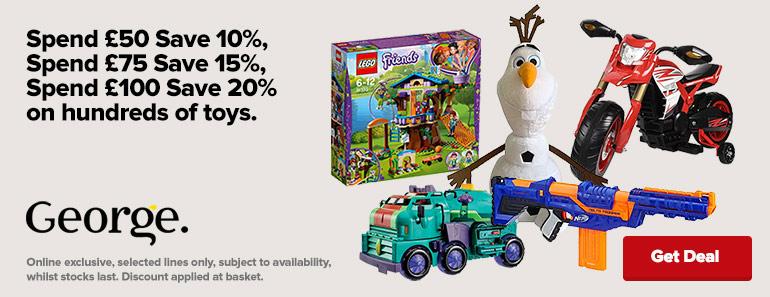 ASDA George Toy Sale