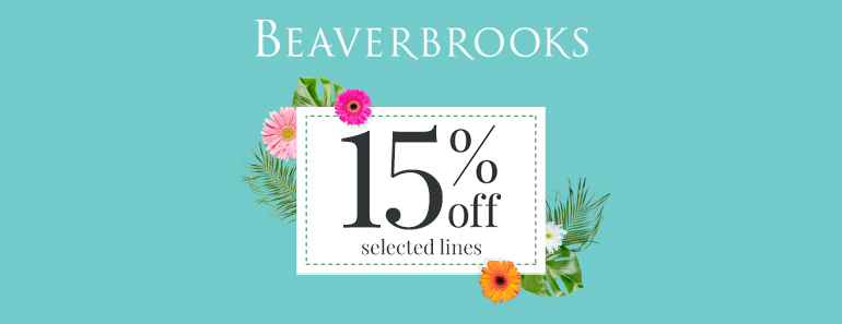 beaverbrooks 15% off