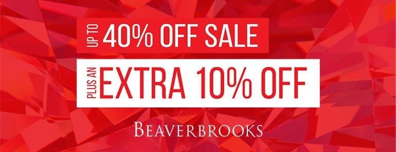 Beaverbrooks Extra 10% off Sale