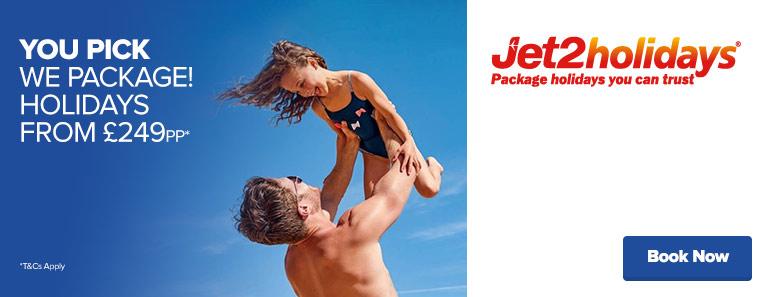 Jet2holidays Offer