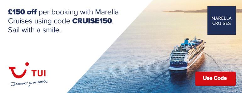 Marella £150 code