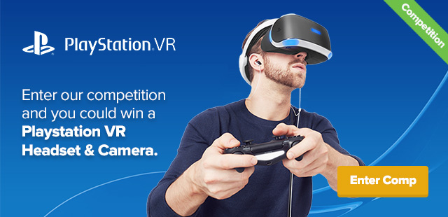 Win a PlayStation VR Headset