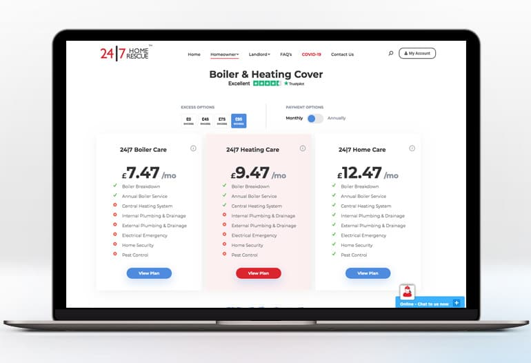 Boiler & Heating Cover