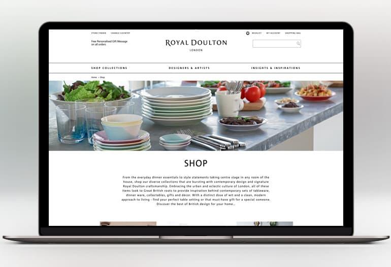 Royal Doulton shop collection
