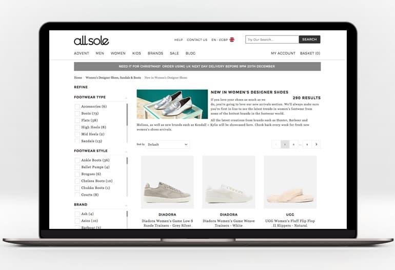 allsole womens shoes