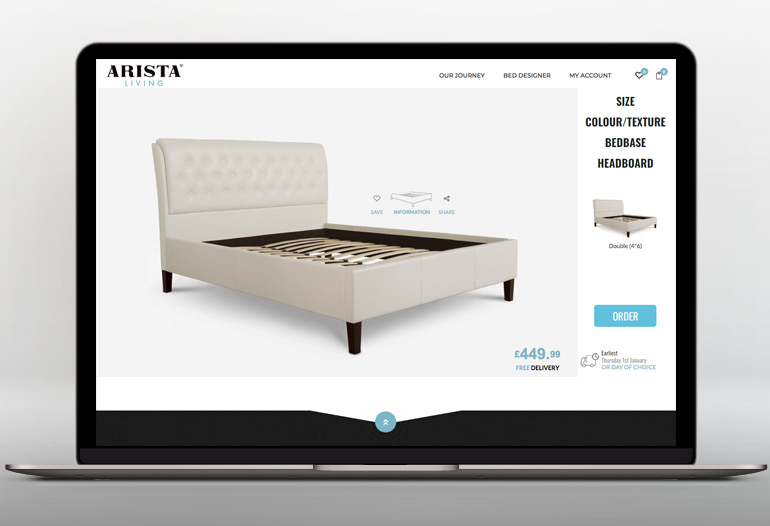 Arista Living Beds