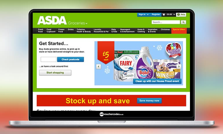 Shop online at ASDA Groceries Home Shopping. The same great prices as in store, delivered to your door with free click and collect!