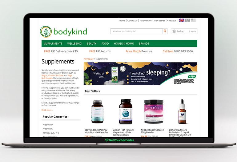 bodykind supplements
