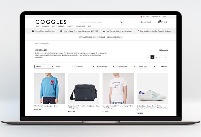 Designer Menswear at Coggles