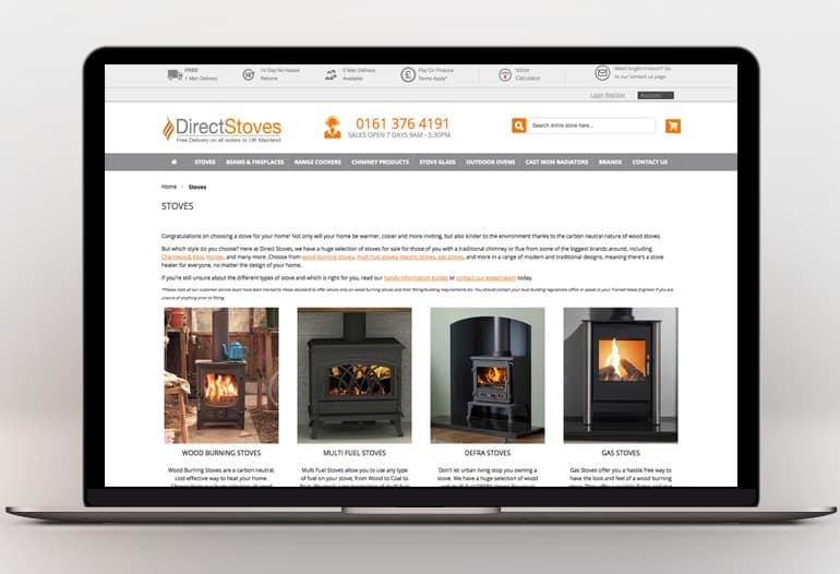 Direct Stoves Stoves