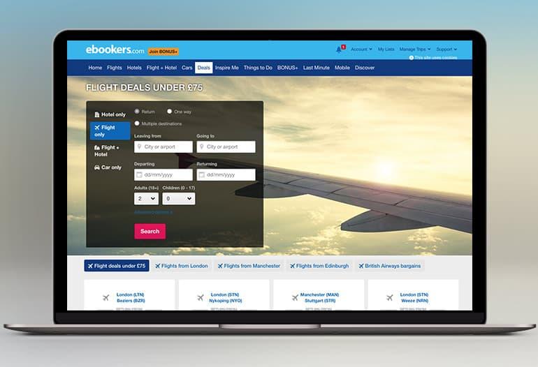 ebookers flight deals