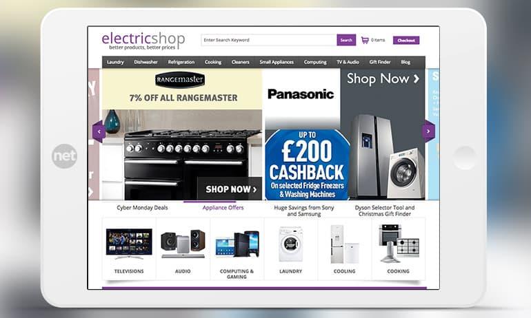 electric shop screenshot large