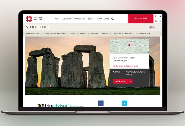 english heritage stone henge