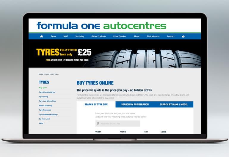 autocentres tyres