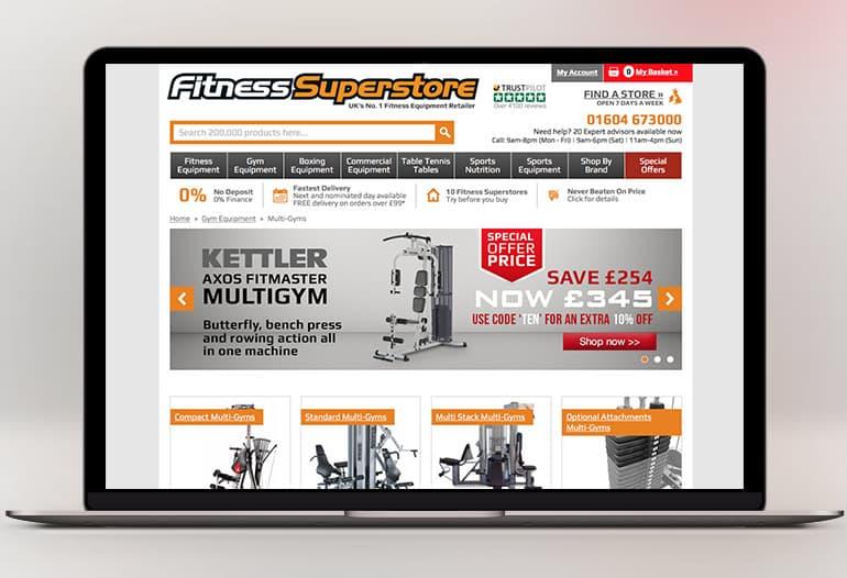 UK's No.1 Fitness Equipment Retailer