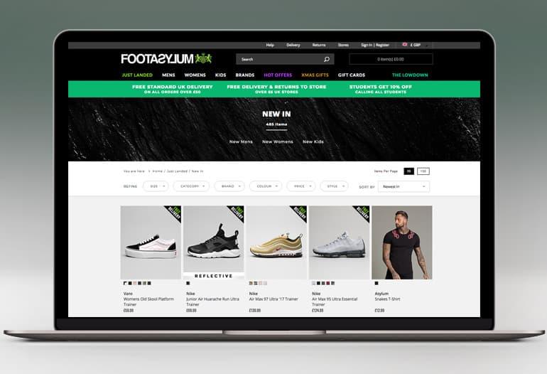 footasylum new in