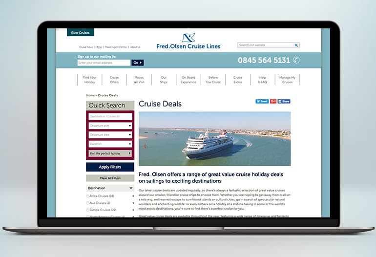 fred olson cruise deals