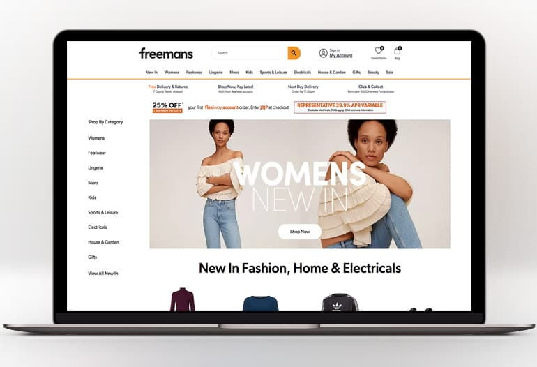 Free Your Style - Shop Fashion, Homeware & More