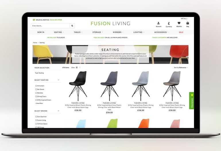 fusion living seating