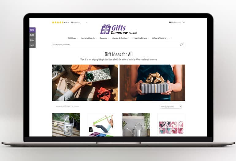 Unique gift ideas for him, her, couples & parents. Home, garden, bar accessories & fitness products.