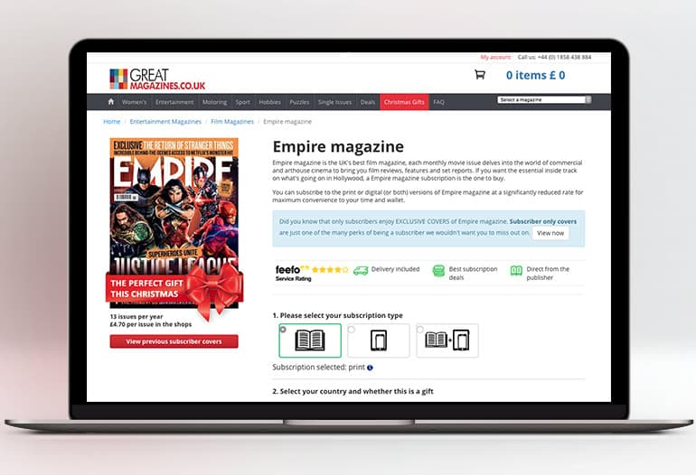 great magazines empire