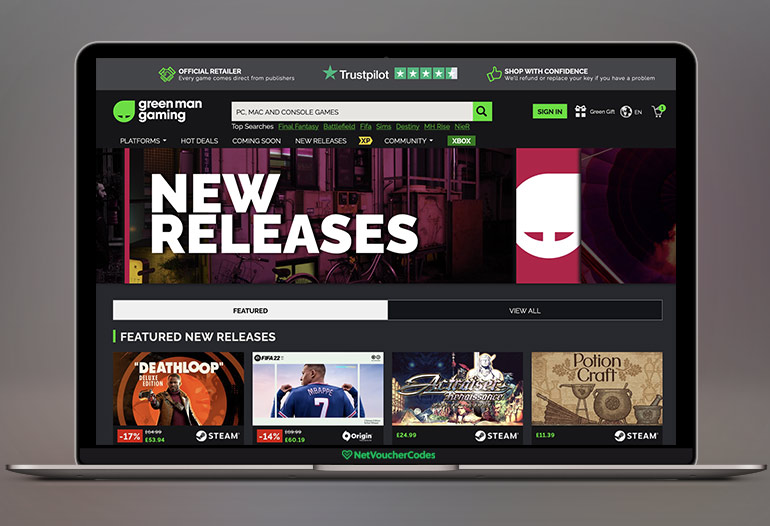 Buy games & game keys with Green Man Gaming, get the best prices, awesome bundles & exclusive game deals daily!